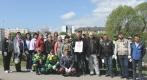 Сотрудники МБУ «Чистота» высадили в Калининграде в честь 75-летия Великой Победы 75 деревьев и кустарников