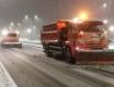 МБУ Чистота убирает снег с улиц Калининграда в круглосуточном режиме